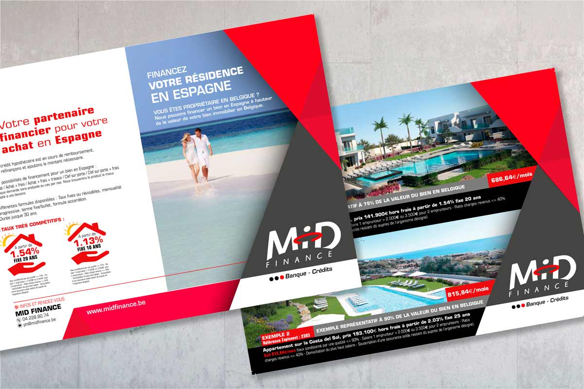 visuel flyers Mid Finance