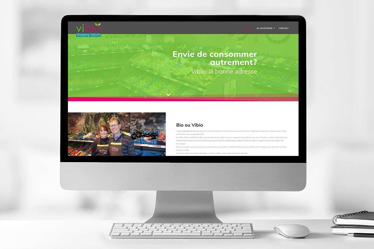 Site internet Vibio